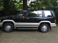 Isuzu trooper lotus handing 4x4