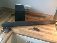 Sony ss wct60 sound bar with sub woofer