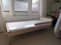 IKEA SNIGLAR Children's Bed 70cm x 160cm & mattress