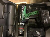 Hitachi nicad battery drill