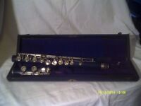 "A CONCERT FLUTE in WOOD , KOHLERT, GRASLITZ , D 220 ."" BUT "" SADLY NO HEAD JOINT ? ? ?"
