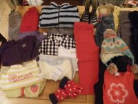LARGE BUNDLE OF GIRLS BABY CLOTHES RECOMMENDED AGES 12-18 & 18-24MONTHS