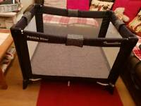 Petite star travel cot for sale