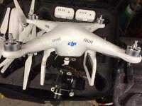 Dji phantom 2 drone, swap/px camera lens iPad