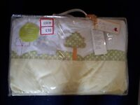 Childrens sarfari cot bed bedding