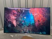 Samsung 55 inch 4K curved Quantum Dot Ultra HD Premium Smart LED TV Freeview HD Freesat HD