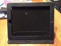 Apple iPad Series 2 protective case (Black, leather feel)
