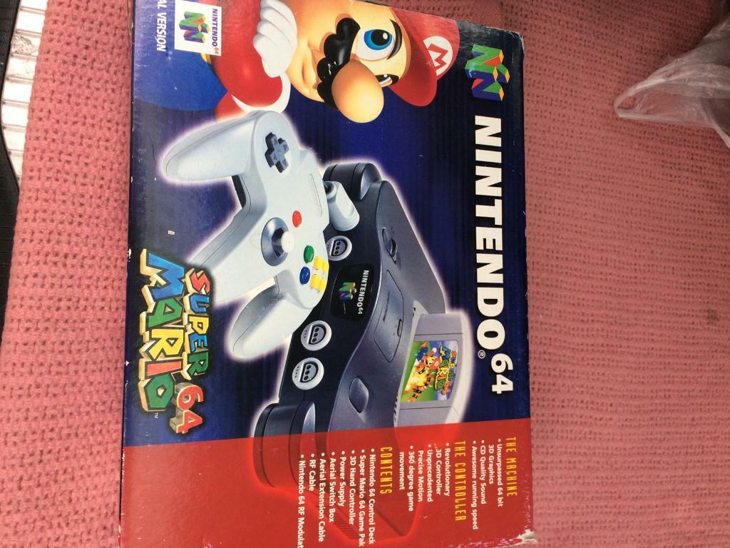 For Sale Limited Edition Nintendo Super Mario 64 | in Hitchin,  Hertfordshire | Gumtree