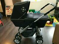 Second hand silver pram and car seat ..in very good condition almost new