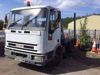 skip lorry, wagon, truck for sale, 6 months MOT, 7.5 tonne, good runner