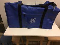 """Blue 24"""" PVC Waterproof Holdall"""