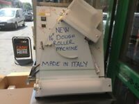 "NEW 16"" DOUGH ROLLER MACHINE CATERING COMMERCIAL KITCHEN BAKERY PIZZA SHOP KITCHEN"