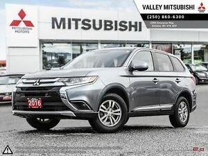 2016 Mitsubishi Outlander ES - ALL WHEEL DRIVE, 10 YEAR WARRANTY