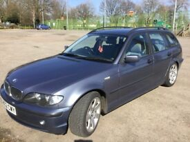 Very reliable , well looked after BMW 320 deisel estate for sale.