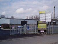 1000 sq ft Industrial unit on established Site in Haverhill