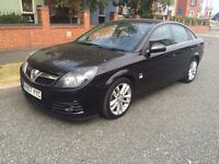 Vauxhall Vectra SRI AUTO Black 2007 model 2.2 Petrol MOT