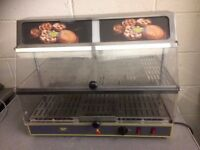 Hot Food Display Cabinet 2 Levels Electric ,Buffalo Make