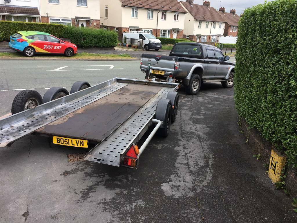 Brian James twin axle tilt trailer car transporter for sale | in ...