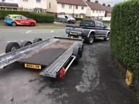 Brian James twin axle tilt trailer car transporter for sale