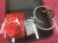 HEL braided brake line hose Honda Civic VTI vti ek4 ek9 type r vtec b16a2 b16b