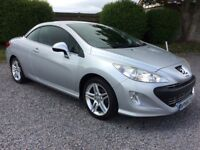 Peugeot 308 CC 1.6 VTi Coupe SE Convertible One Owner FSH by Peugeot 77K MILES
