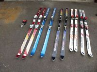 Skis for sale £10 a set