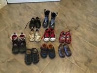 9 pairs toddler boys shoes