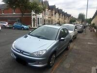 Peugeot 206 automatic low mileage £2200