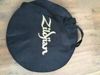 Zildjian ZBT cymbal set and gig bag