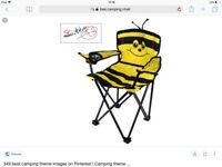 Bee camping chair