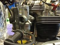 Amal concentric carburettors