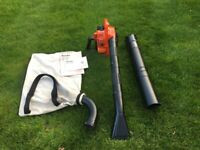 TANAKA TBH-2510 PRO FORCE LEAF BLOWER WITH VACCUM ATTACHMENT