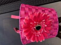 Micro scooter basket, pink