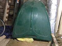 VW Beetle Bonnet & 2 Vintage Roof Racks