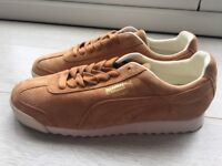 BRAND NEW MENS PUMA ROMA TRAINERS (All Suede) SIZE 9