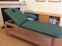 ECOPOSTURAL Adjustable Wooden Massage Table