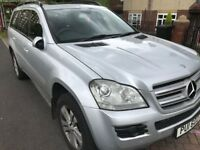 Mercedes Benz GL 320 CDI 4-matic 7 Seater Silver SAT NAV+TWIN SUNROOF. 2 owners private plate