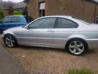Bmw 320 coupe very nice car no insurance scammers to call