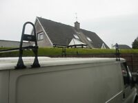 factory ford transit roof rack