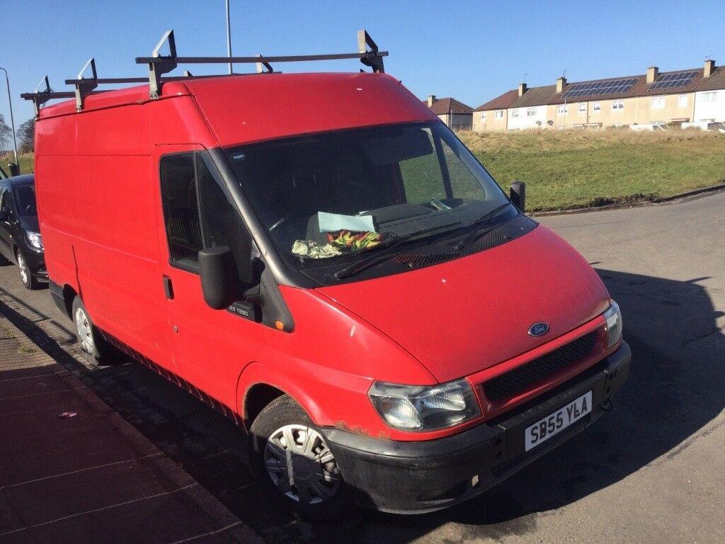 Red Transit Van  Ono Good Runner Clutch Needed