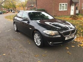 BMW 520 2.0L DIESEL FULL LEATHER SEATS AND NAV 184 BHP