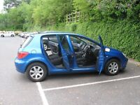 Peugeat 307 (2002) - 1.6 Litres petrol, very good condition