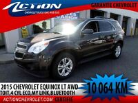2015 CHEVROLET EQUINOX AWD LT AUTO,AIR,BLUETOOTH,2.4L ECO