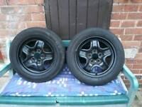 4x wheels 185/65r15