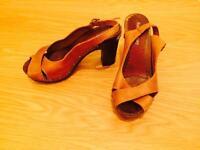 Summer sandals, size 38