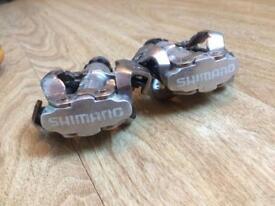 Shimano SPD bike pedals