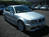 2003 BMW 330 CI SPORT FACELIFT E46 3 SERIES PETROL AUTO SAT NAV LEATHER
