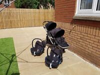 Baby jogger city select single/double buggy