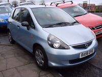 EXCELLENT VALUE!!! 2007 HONDA JAZZ 1.2 i-DSI S 5dr, 1 YEAR MOT, 1 OWNER FROM NEW, WARRANTY