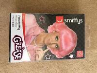 Grease pink frenchy wig